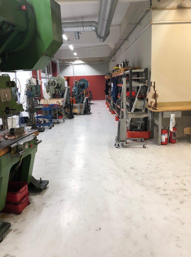 Maskiner i produktionen